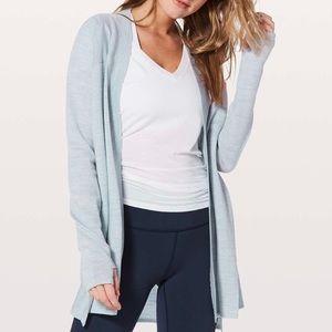 lululemon blissful zen sweater size 6
